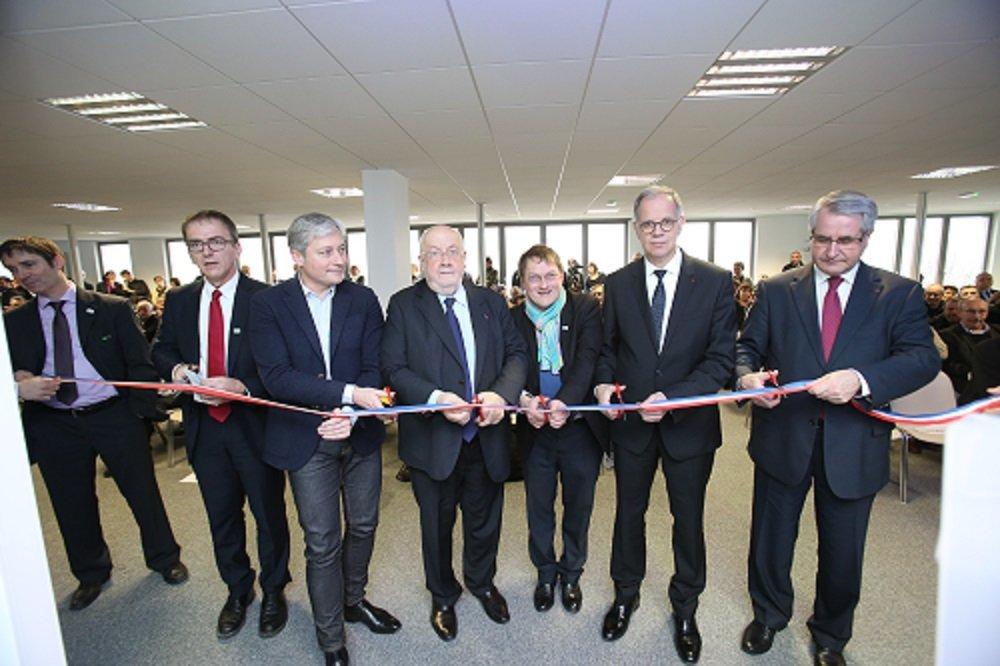 Inauguration de la Direction territoriale de VNF à Nancy