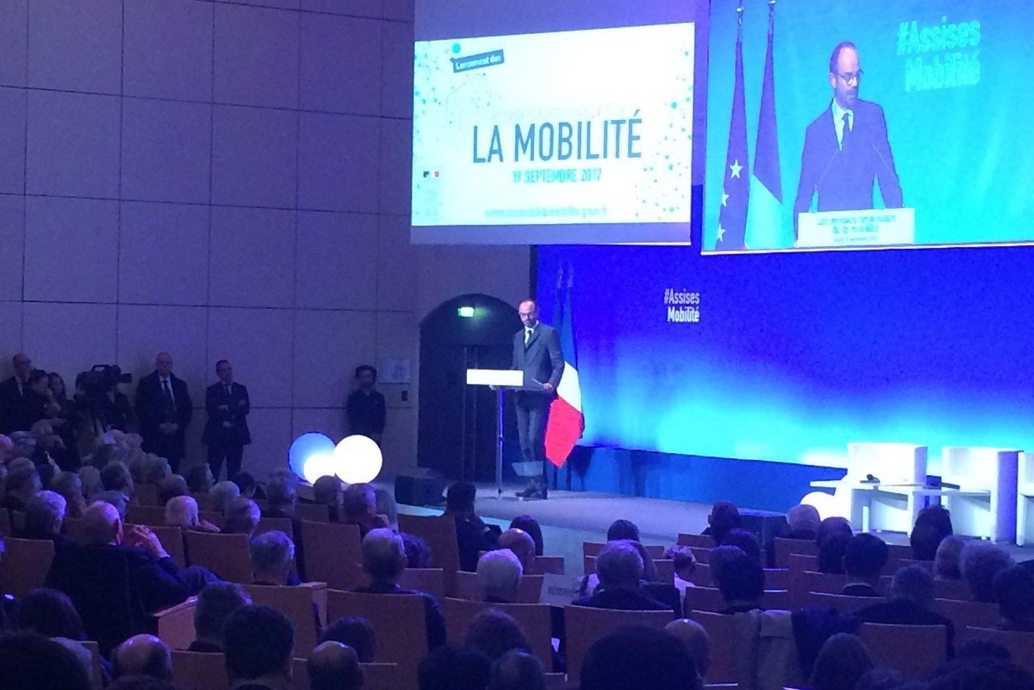 Assises de la mobilité : Edouard PHILIPPE évoque le dossier Seine-Nord Europe